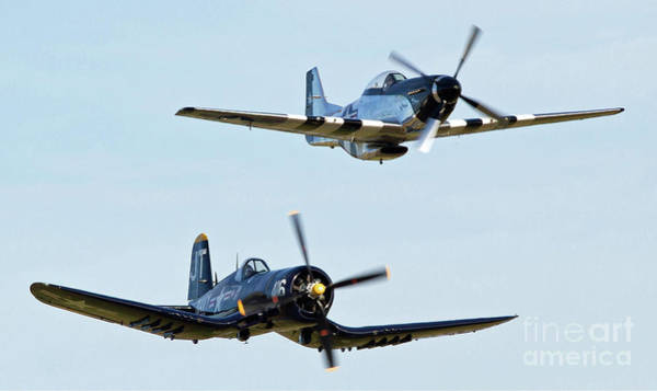 Photograph - Wwii Fighters by Kevin McCarthy