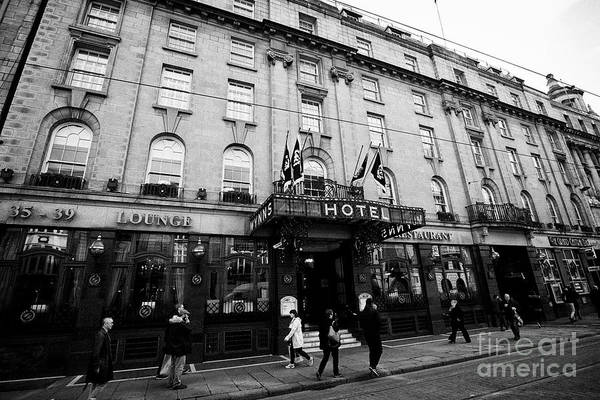 Wall Art - Photograph - Wynns Hotel Lower Abbey Street Dublin Republic Of Ireland Europe The Hotel Was The Site Of The Found by Joe Fox