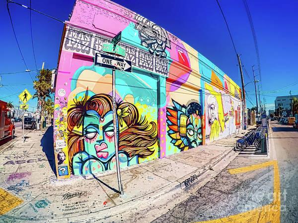 Photograph - Miami Wynwood Graffiti Art by Carlos Diaz