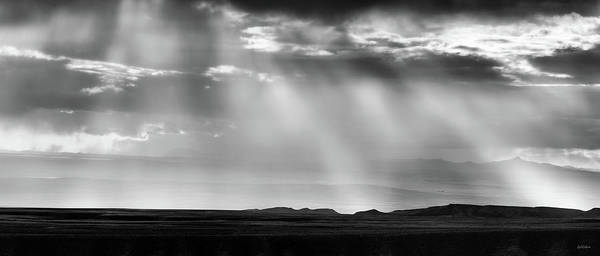 Photograph - Wyoming Cloud Light Panoramic by Leland D Howard