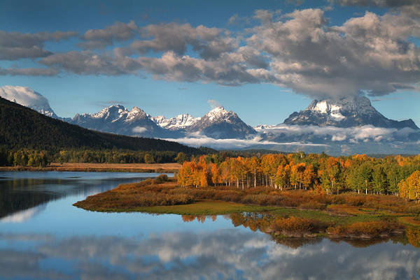 Wall Art - Photograph - Wyoming, Grand Teton Np, Snake River by Bob Winsett