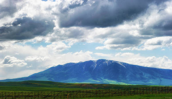 Photograph - Wyoming Vast Landscape Under Dark Clouds by Dee Browning