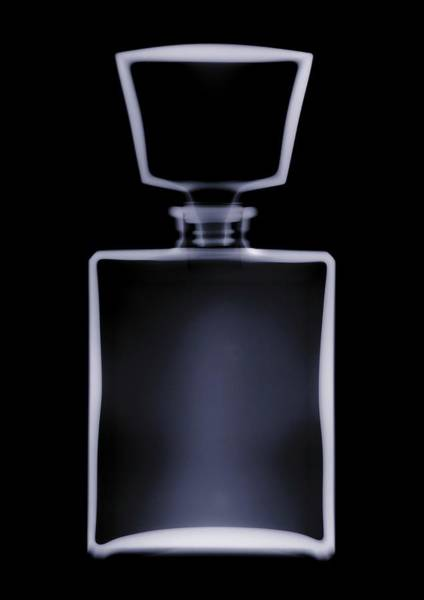 Photograph - X-ray Of Perfume Bottle With A Stopper by Nick Veasey