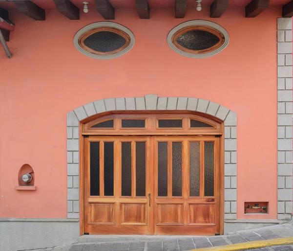 Oculus Wall Art - Photograph - Xalapa Double Wooden Doors by Joesboy