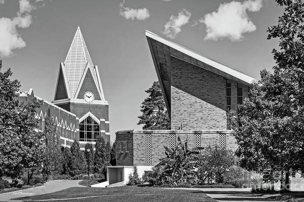 Photograph - Xavier University Bellarmine Chapel And Gallagher Center by University Icons
