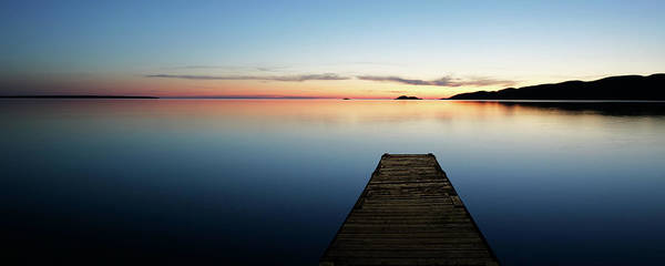 Wall Art - Photograph - Xl Serene Lake With Dock by Sharply done