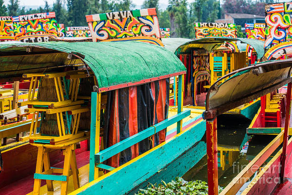Wall Art - Photograph - Xochimilco, Mexico City by Paco Forriol