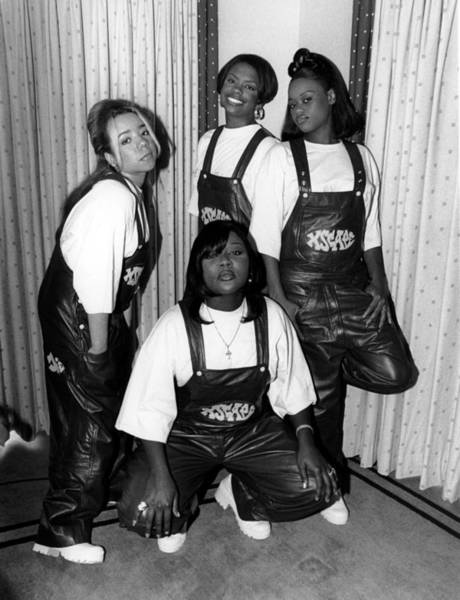 Soul Music Photograph - Xscape In Chicago by Raymond Boyd
