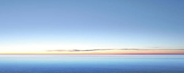 Lake Huron Photograph - Xxl Serene Twilight Lake by Sharply done