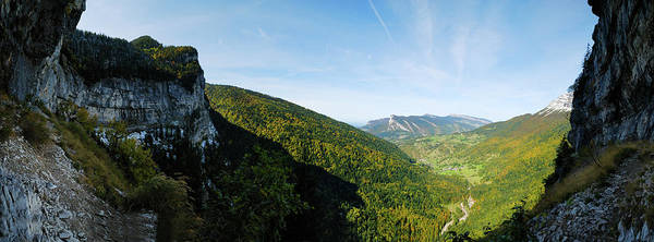 Chartreuse Photograph - Xxlmountain Panorama by Mmac72