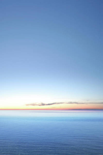 Lake Huron Photograph - Xxxl Serene Twilight Lake by Sharply done