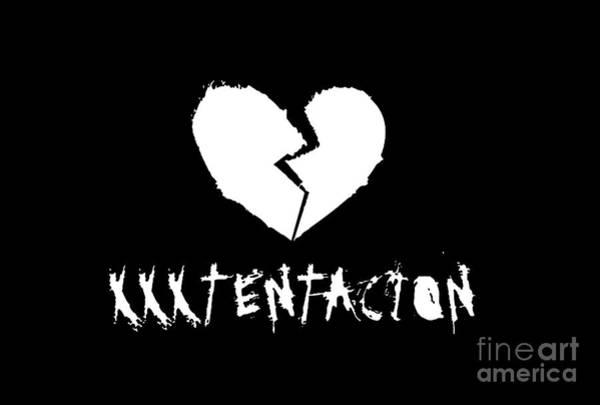 Xxxtentacion Broken Heart Art Print