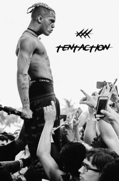 Xxxtentacion Tribute Art Print