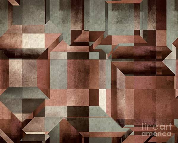 Wall Art - Digital Art - Xyz - C103ast by Variance Collections