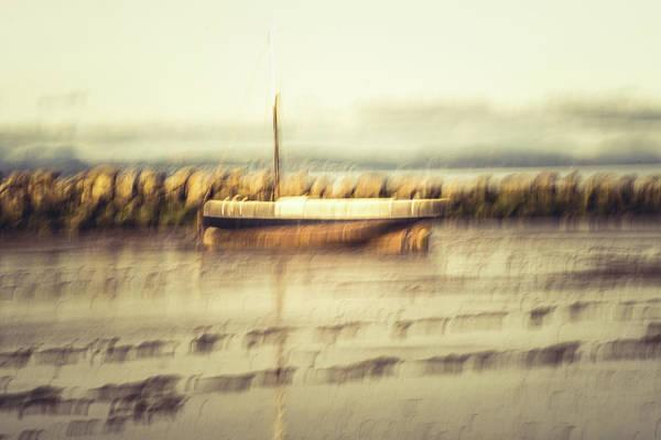 Wall Art - Photograph - Yacht On A Beach by David Ridley