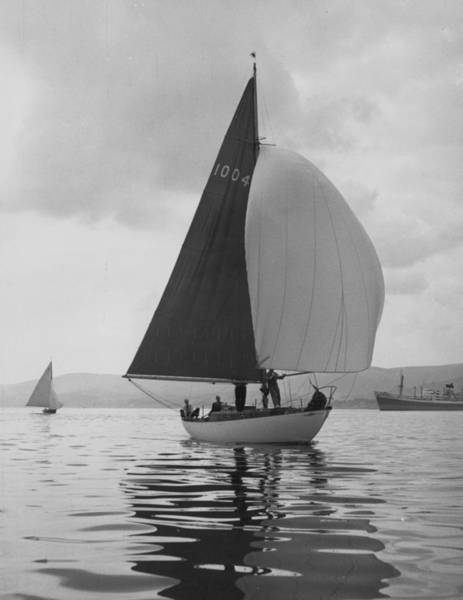 Clyde Photograph - Yachting by Bert Hardy