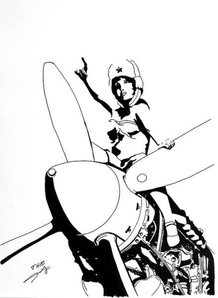 Yak Drawing - Yak by Thibault Cernaix