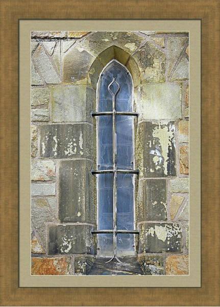 Photograph - Yale University Window by Darrel Giesbrecht