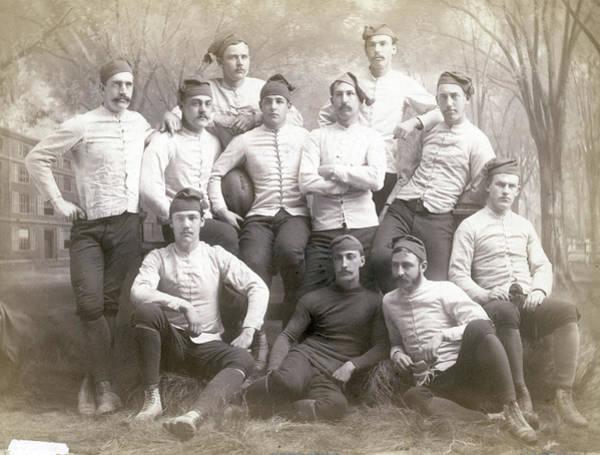 Photograph - Yale Football Team Portrait by Bettmann