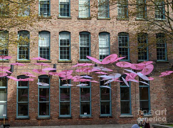 Wall Art - Photograph - Yaletown Umbrellas by Jim Hatch