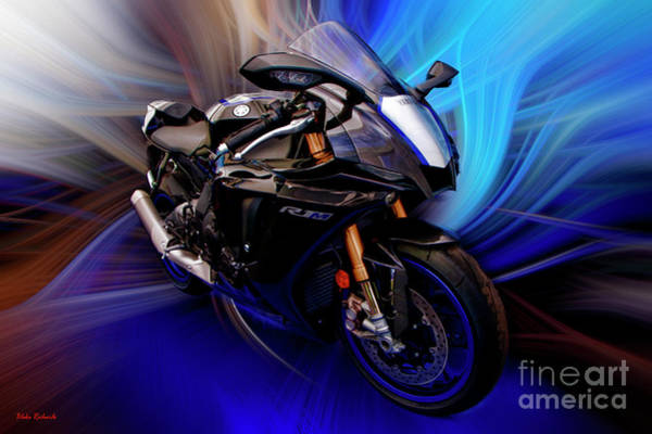 Photograph - Yamaha 2020 Yzf-r1 by Blake Richards