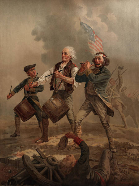 Fife Painting - Yankee Doodle 1776 by Archibald Willard