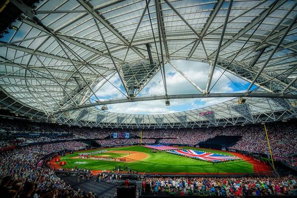 Wall Art - Photograph - Yankees And Red Sox In London 2019 by Dvids  Rachel Maxwell