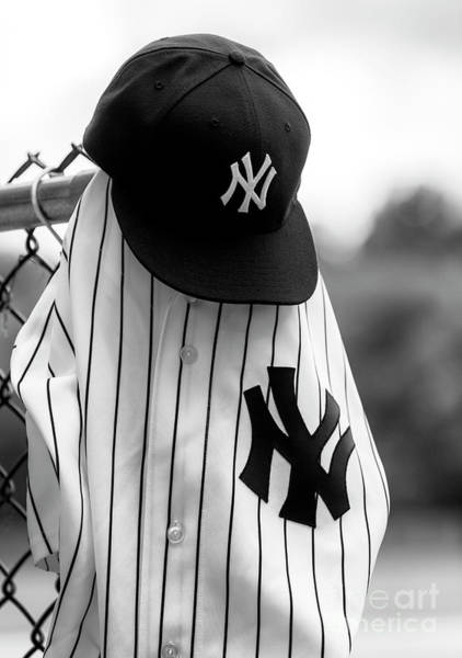 Hats For Sale Photograph - Yankees Legends Of The Fall by John Rizzuto