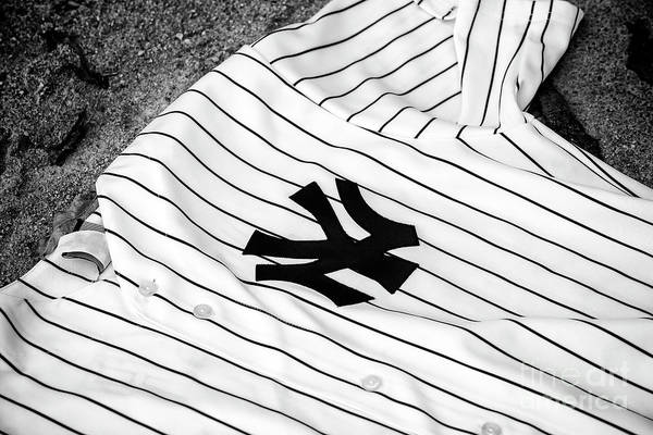 Photograph - Yankees Pinstripe Pride by John Rizzuto