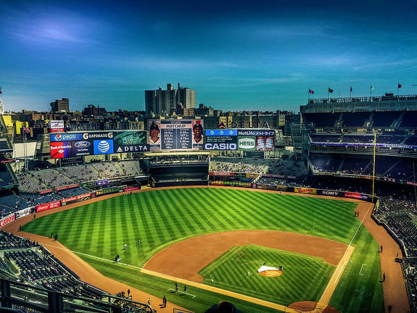 Yankee Stadium Digital Art - Yankees Stadium Bronx, New York by Jeffrey Martinez