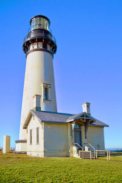 Camera Raw Photograph - Yaquina Head Lighthouse IIi by Brenton Cooper