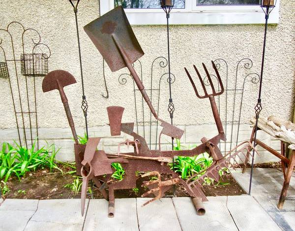 Photograph - Yard Art by Stephanie Moore
