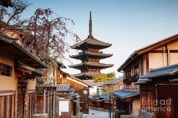 Wall Art - Photograph - Yasaka Pagoda In Spring, Kyoto, Japan by Matteo Colombo