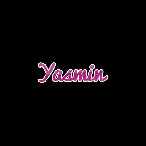 Wall Art - Digital Art - Yasmin #yasmin by Tinto Designs