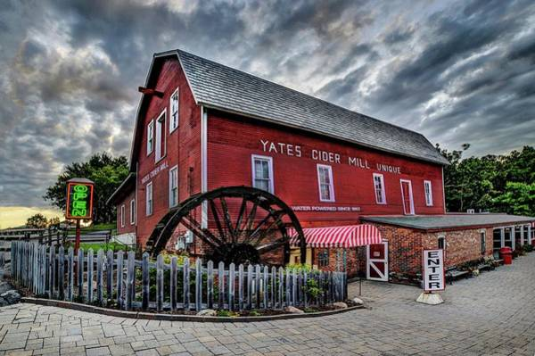 Digital Art - Yates Cider Mill Dsc_0694 by Michael Thomas