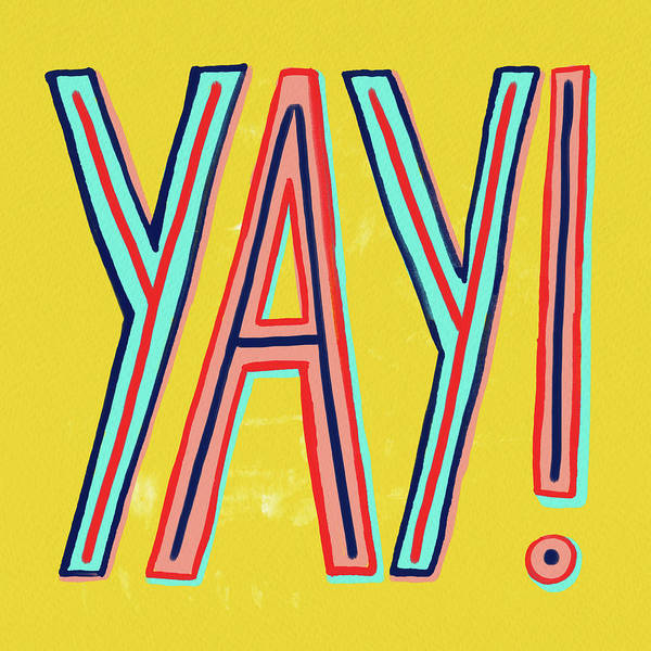 Painting - Yay by Jen Montgomery