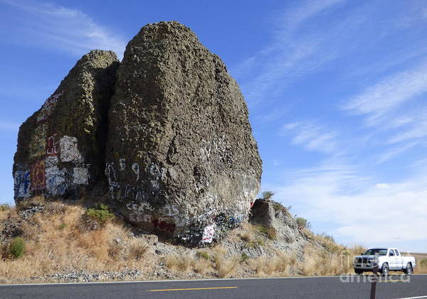 Photograph - Yeager Rock - A Glacial Erratic by Charles Robinson