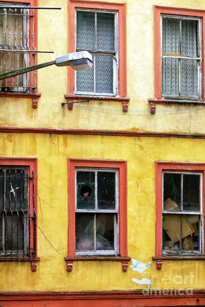 Turkiye Wall Art - Photograph - Yellow And Red In Istanbul by John Rizzuto