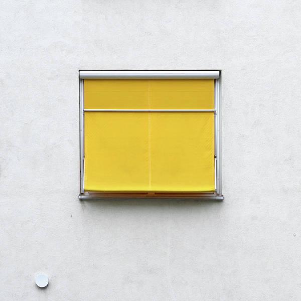 Photograph - Yellow Blind by Stuart Allen