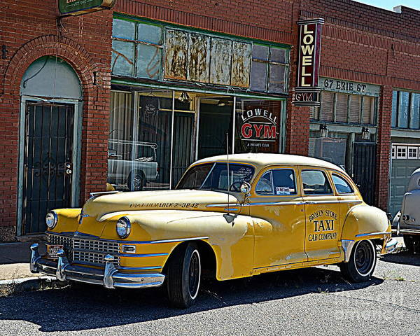 Wall Art - Photograph - Yellow Cab by Tru Waters