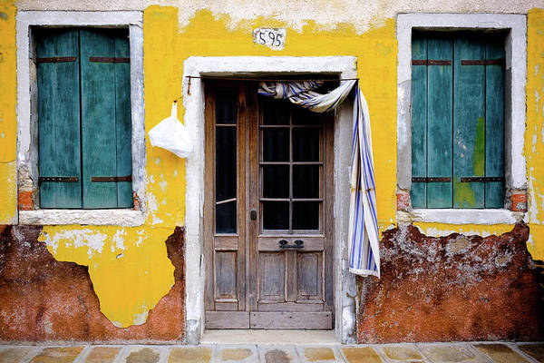 Photograph - Yellow Doorway by Nicole Young