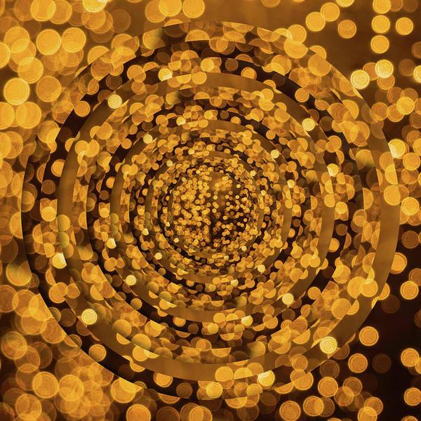 Wall Art - Photograph - Yellow Dots Circles by Pelo Blanco Photo