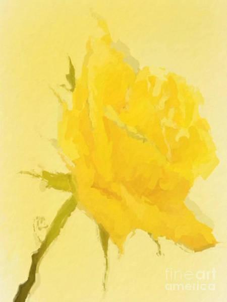 Wall Art - Mixed Media - Yellow Jewel by Anthony Fishburne