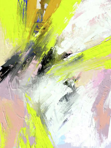 Digital Art - Yellow Light by Ken Law