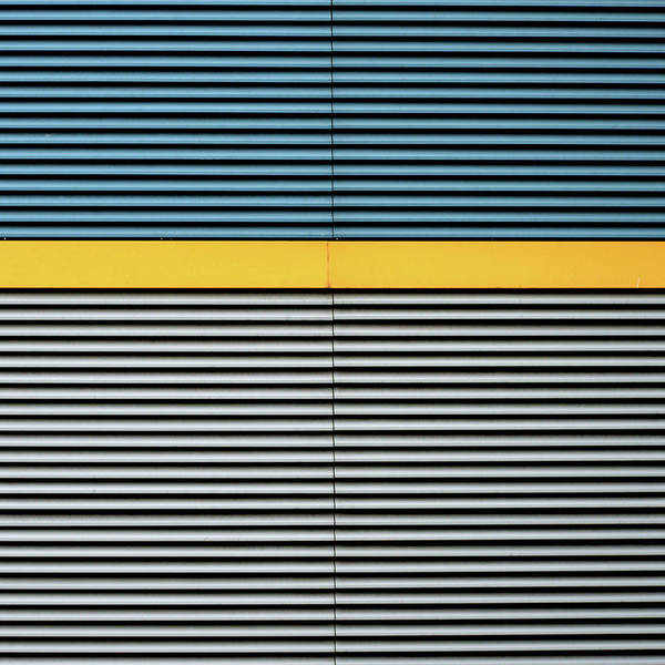 Photograph - Yellow Line by Stuart Allen