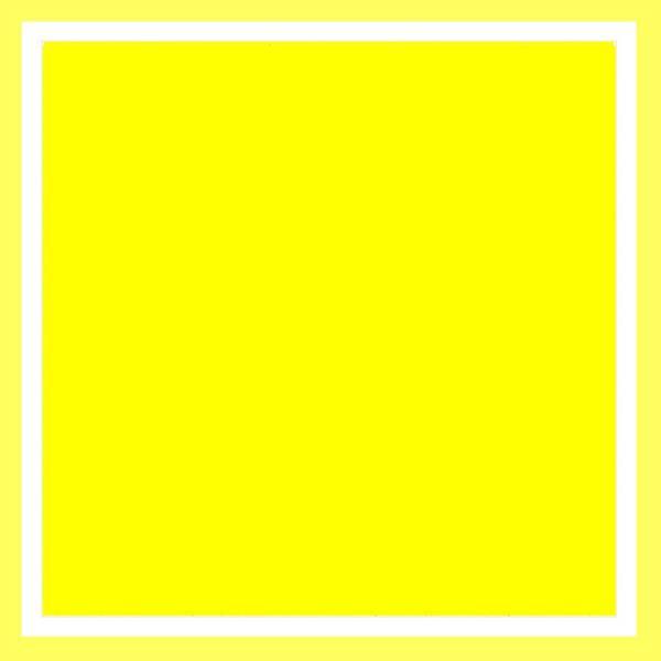 Digital Art - Yellow Square - No Yolk by VIVA Anderson