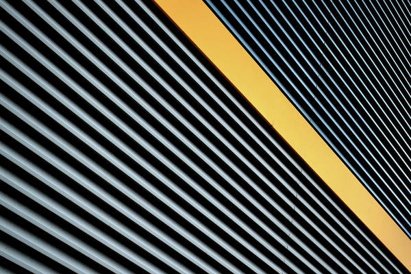 Photograph - Yellow Stripe by Stuart Allen