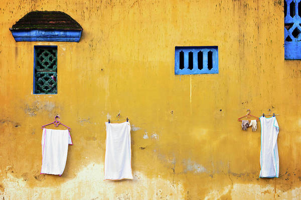 Photograph - Yellow Wall by Nicole Young