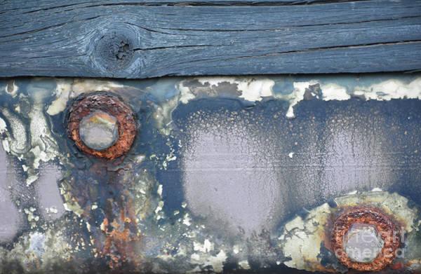 Photograph - Yellowstone Hot Spring Industrial Art by Rose De Dan