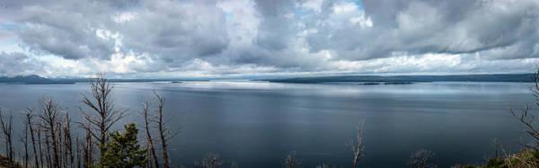 Wall Art - Photograph - Yellowstone Lake by Bruce J Barker